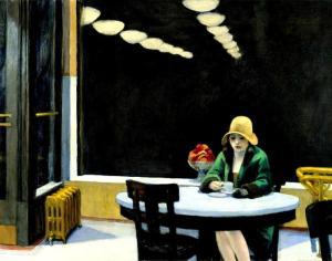 Automat ~ Edward Hopper (1927)