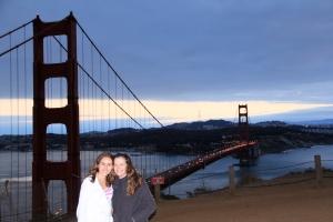 Mariana y Cata - Una de las mejores vistas del Golden Gate Bridge