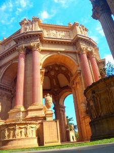 Monumento a las Bellas Artes. La Marina, San Francisco
