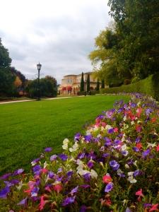Los jardines del viñedo Ferrari-Carano
