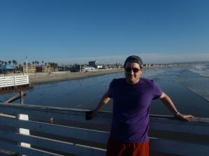Crystal Pier (Muelle de cristal), Pacific Beach, San Diego.