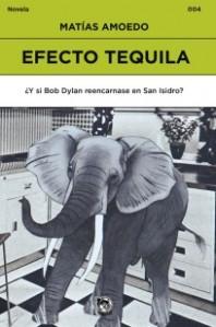 Efecto tequila, primera novela de Matías Amoedo